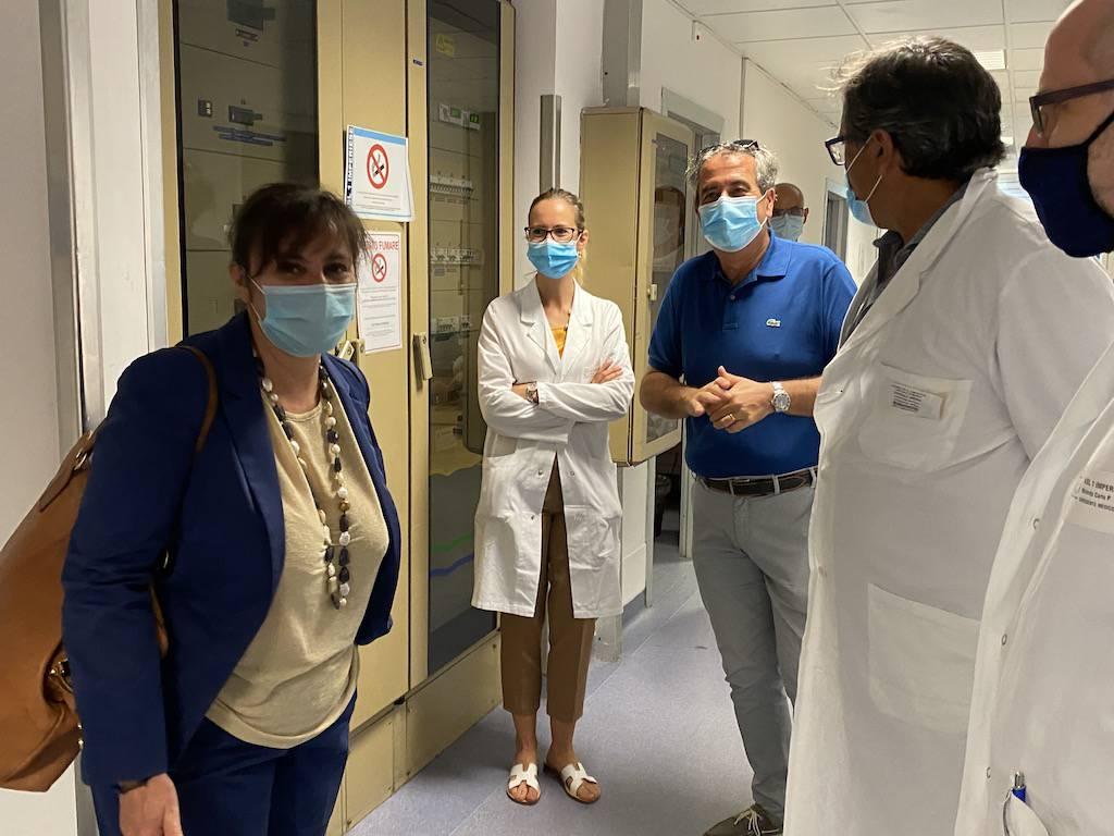 riviera24 - Sonia Viale all'ospedale di Imperia