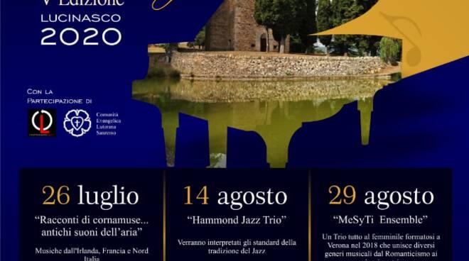 Concerti sul lago 2020 Chiesa della Maddalena - Lucinasco