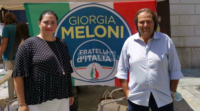 federica cozza luca lombardi fratelli d'italia