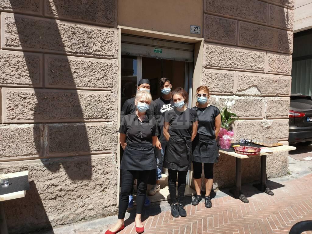 apertura ristorante via xx settembre