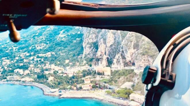 elicottero carabinieri su ventimiglia