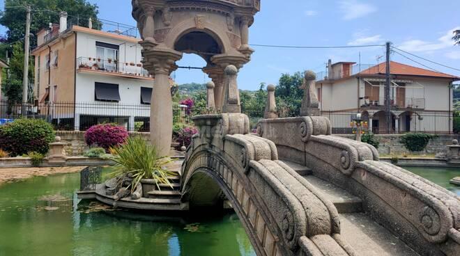 Imperia, sopralluogo Profumo e Scajola a Villa Grock