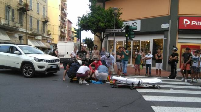 incidente Corso Genova