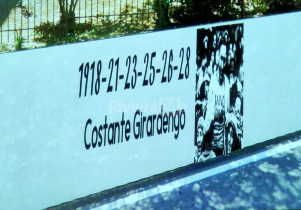 Murales lungo le strade della Sanremo