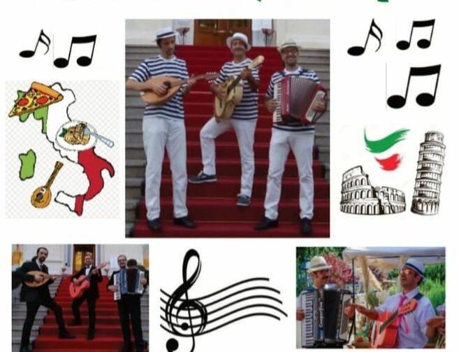 """Trio Musicale """"Bagna cauda, Carne cruda e Mandolino"""""""