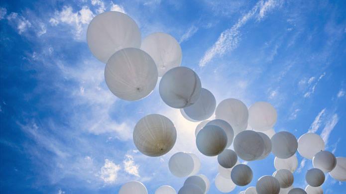 palloncini cielo