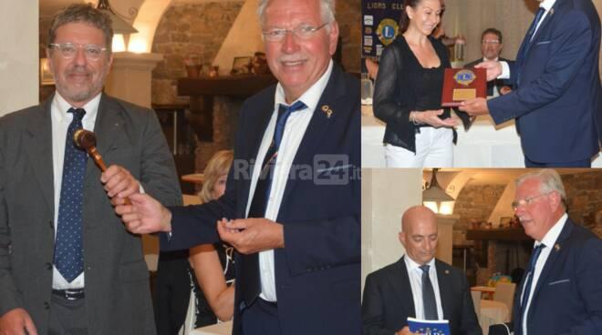 Passaggio di consegne Lions Bordighera Capo Nero Host