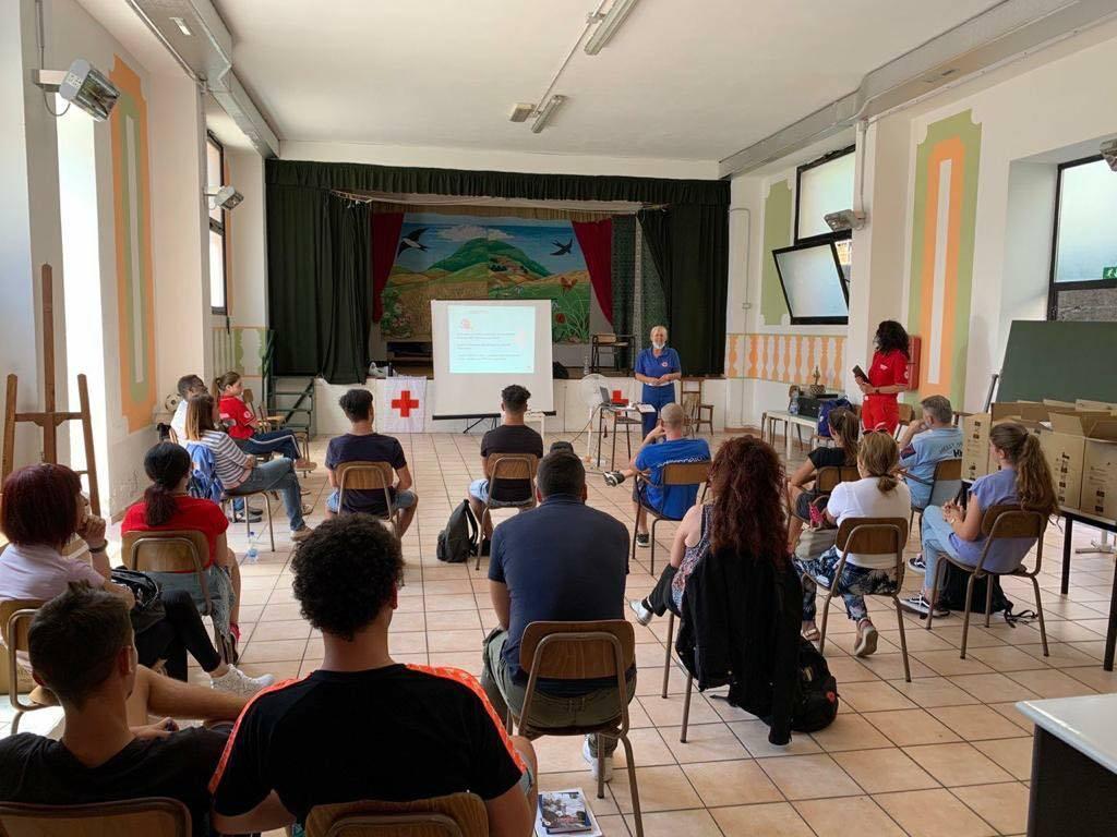 Pontedassio, partito il corso per volontari della Cri