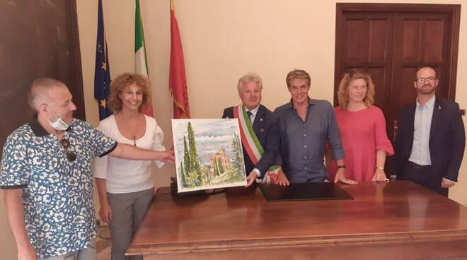 riviera24 - Artisti en plein air a Ventimiglia