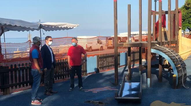 riviera24 - Bordighera, lavori di riqualificazione sul lungomare Argentina