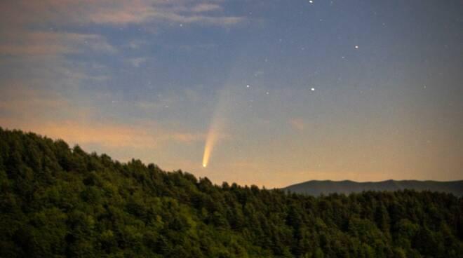 riviera24 - cometa Neowise