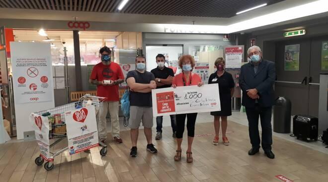 riviera24 - Donazione Coop Liguria