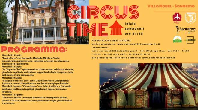 riviera24 - Il Magico mondo del circo