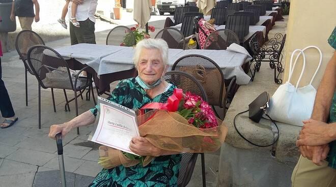 riviera24 - maria emilia rebaudo 100 anni