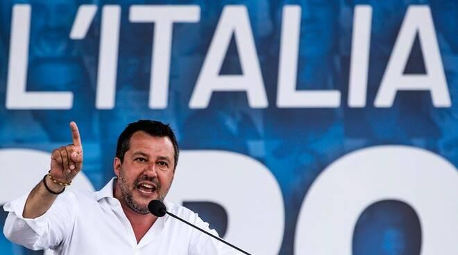 Riviera24- Matteo Salvini