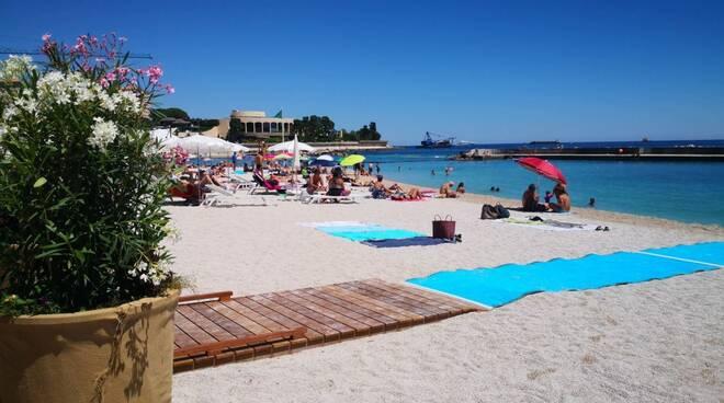 Spiaggia a Monaco