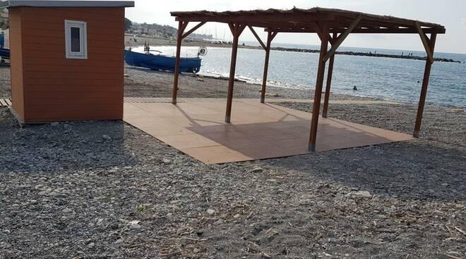 spiaggia disabili ventimiglia