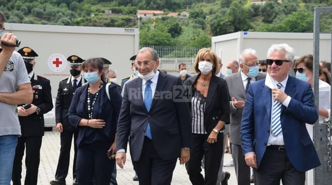 Visita ministero dell'Interno a Ventimiglia