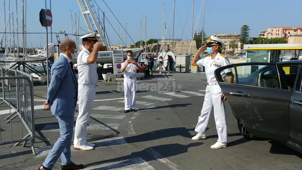 A Sanremo festa del mare con l'ammiraglio Giovanni Pettorino