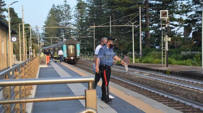 bordighera uomo travolto da treno