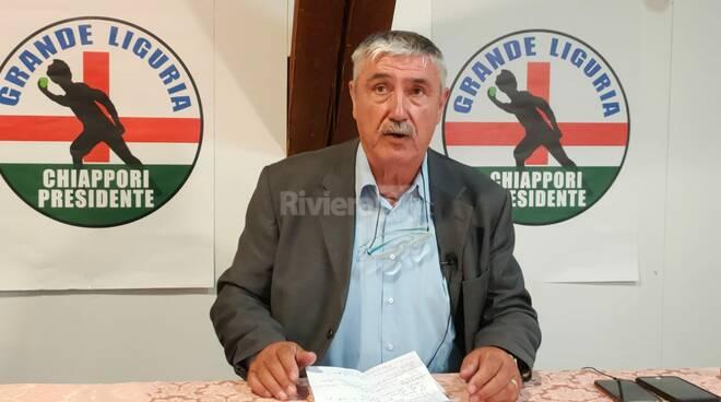 Candidato Presidente Giacomo Chiappori