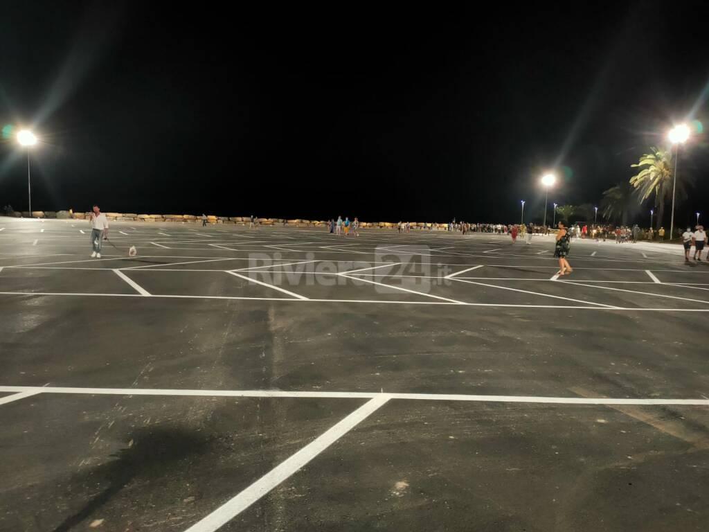 nuovo parcheggio  spianata
