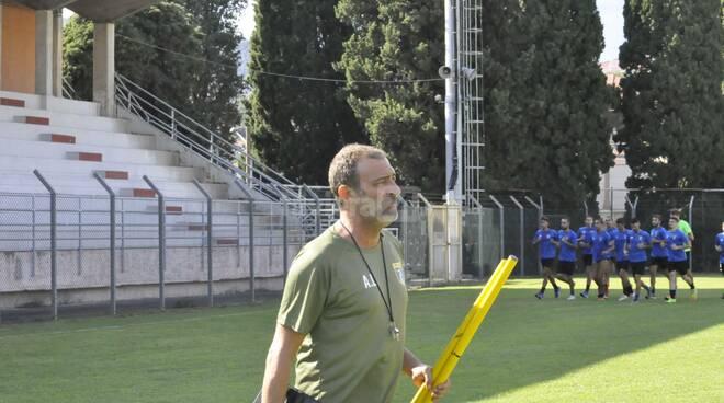 Imperia calcio in serie D, iniziata la preparazione allo stadio Ciccione