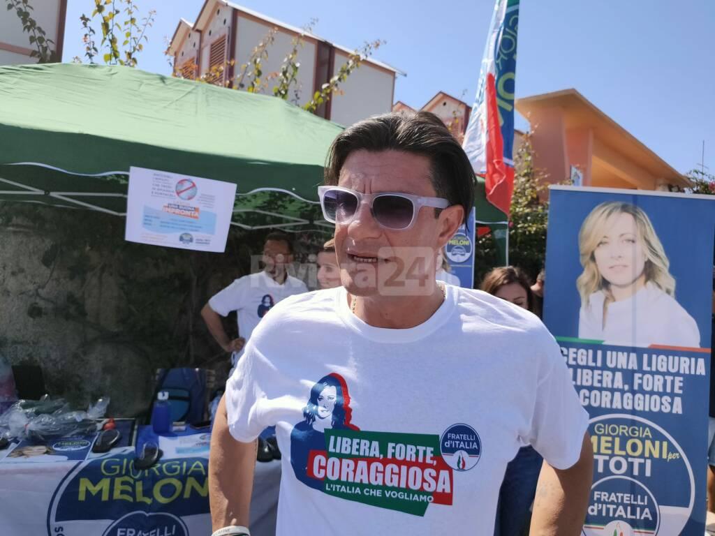 Imperia, presentazione candidati Fratelli d'Italia