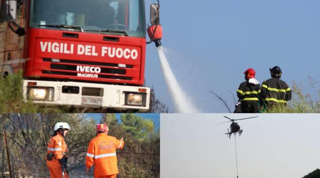Incendio Montenero