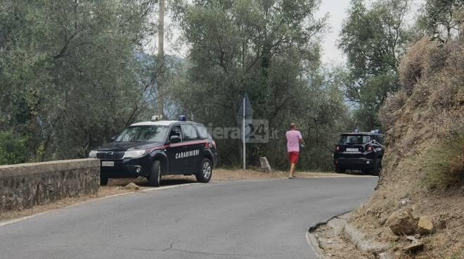 incidente Perinaldo carabinieri