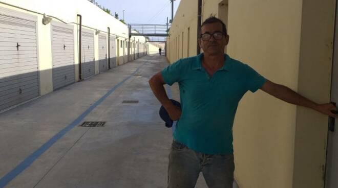 Nuova Passeggiata nel Mare, Ciclabile a ridosso dei magazzini dei pescatori