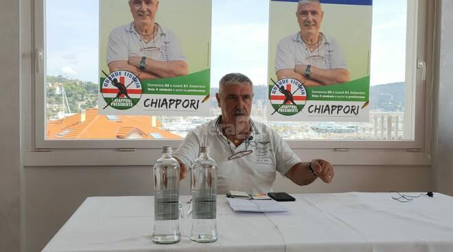 Presentazione candidati imperiesi Grande Liguria con Giacomo Chiappori