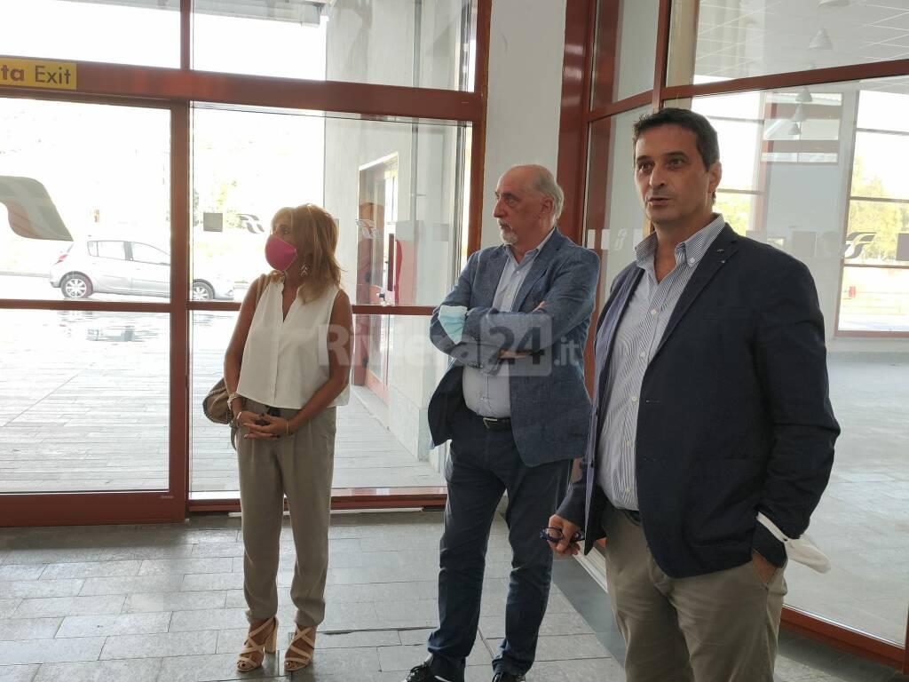 Raffaella Paita e Aristide Massardo a Imperia