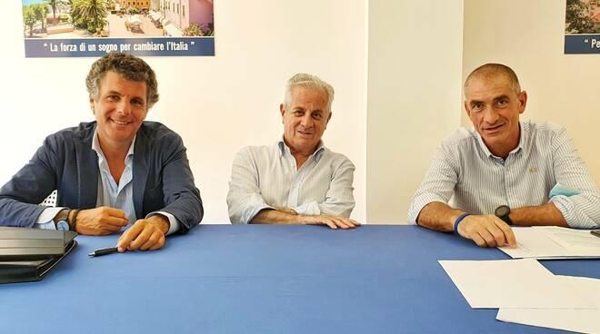 riviera24 - Carlo Bagnasco, Andrea Costa e Claudio Scajola
