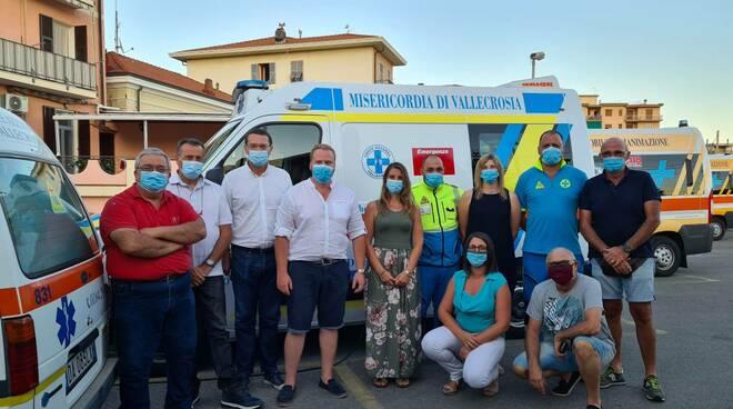 Riviera24- croce azzurra misericordia