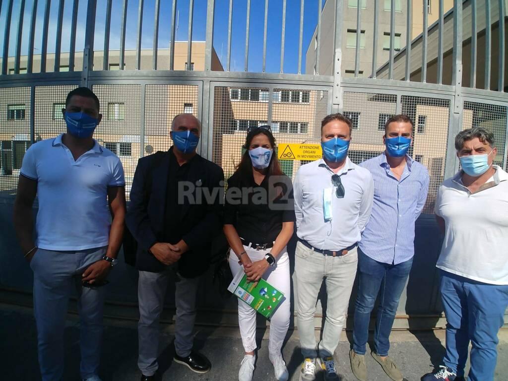 riviera24 - Delegazione del Sappe e Lega in visita al carcere di Sanremo