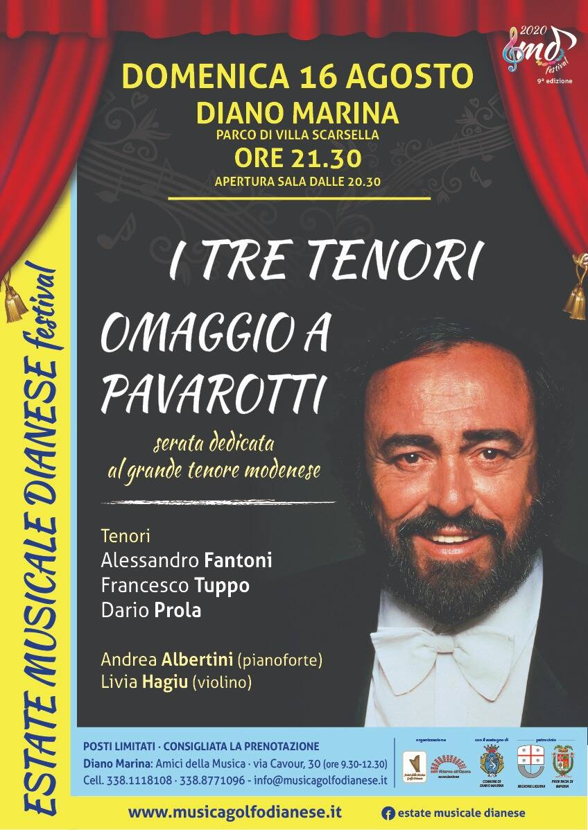 """riviera24 -  """"I tre tenori"""""""