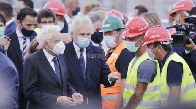 riviera24  - inaugurazione del nuovo ponte genova