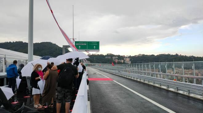 riviera24 - inaugurazione ponte genova