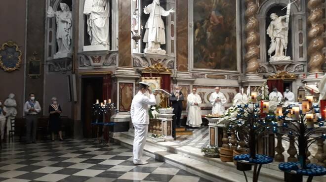 riviera24 - Messa al Santuario della Madonna della Costa