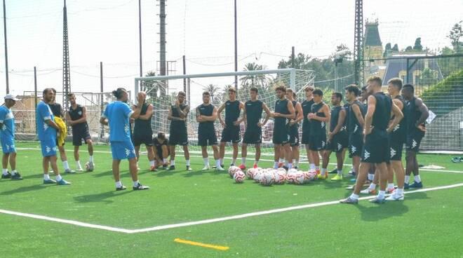 riviera24 - Sanremese Calcio allenamento