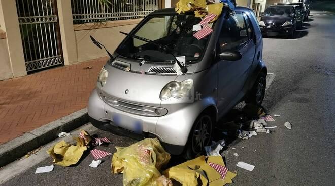 auto spazzatura bordighera