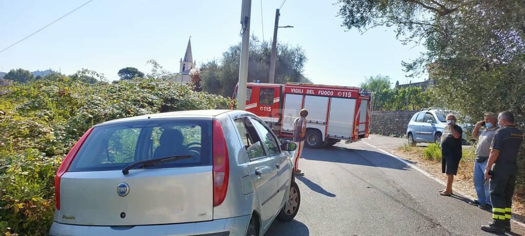 vigili del fuoco recupero auto Piani