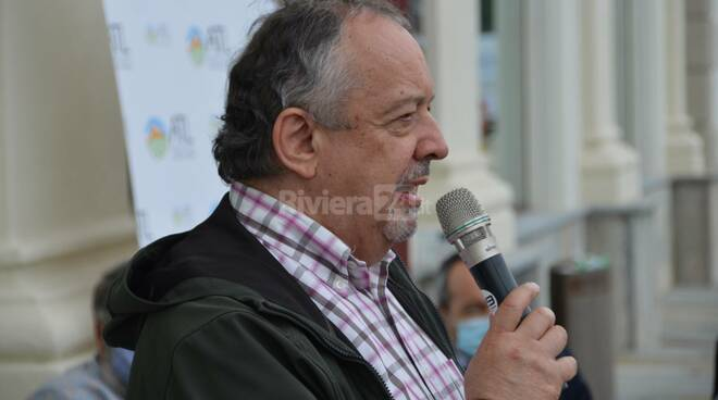 Giorgio Ferraris sindaco Ormea