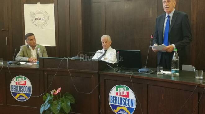 L'eurodeputato Massimiliano Salini a Imperia sostiene Luigi Sappa