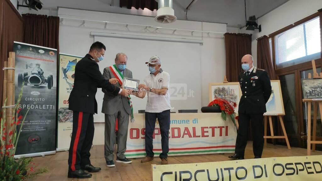 Ospedaletti premia Carabinieri