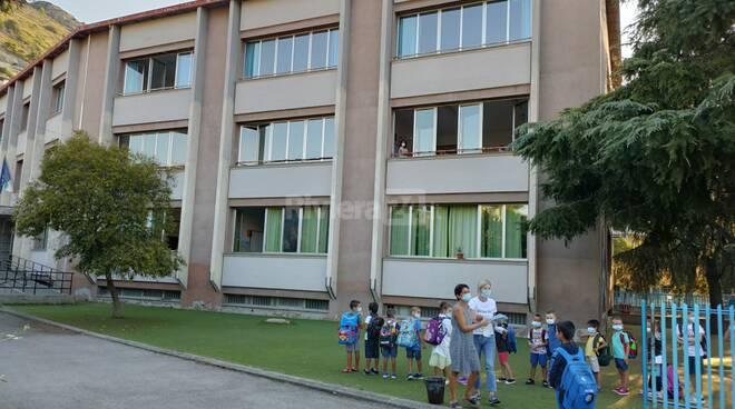 Primo giorno di scuola a Ventimiglia