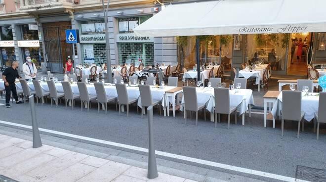 ristorante flipper dehors