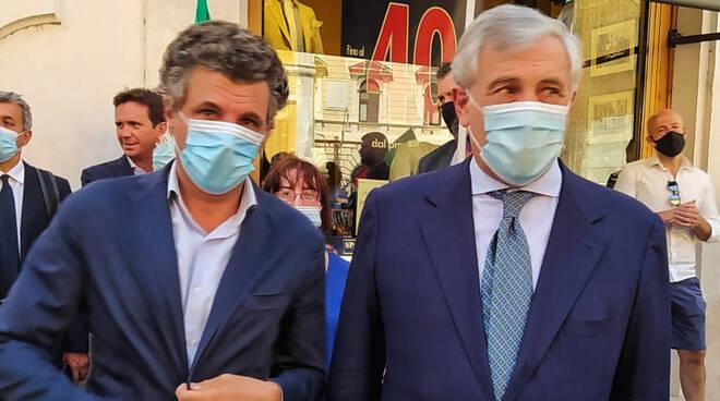 riviera24 - Antonio Tajani e Carlo Bagnasco