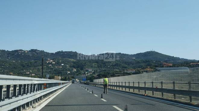 Riviera24- autostrada cantieri